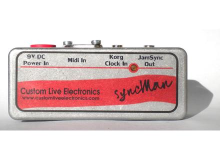 Custom Live Electronics SyncMan