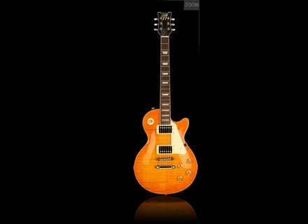 Custom77 London's Burning - DL3 - Flamed Top Trans Amber