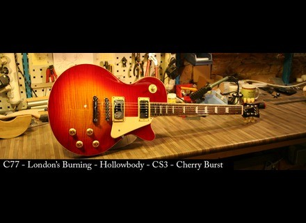Custom77 London's Burning Hollowbody CS3