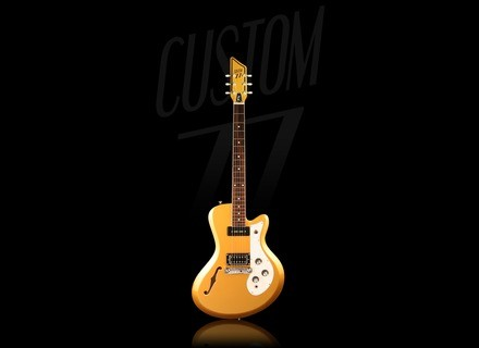 Custom77 The Roxy Hollowbody DL3 - Goldtop