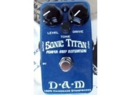 D*A*M (Differential Audio Manifestationz) Sonic TItan