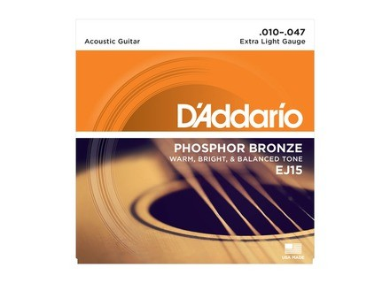 D'Addario Phosphore Bronze Wound Acoustic Guitar