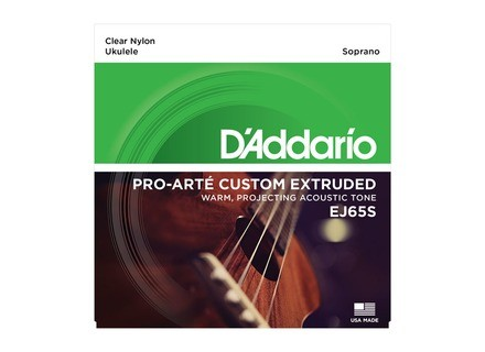 D'Addario Pro-Arté Custom Extruded Nylon Ukulele