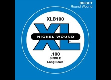 D'Addario Single XL Nickel Bass