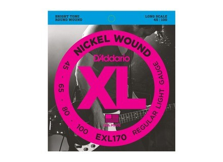 D'Addario XL Nickel Wound Bass