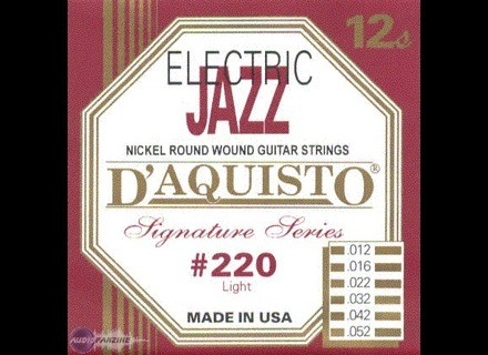 D'Aquisto Nickel Wound Electric