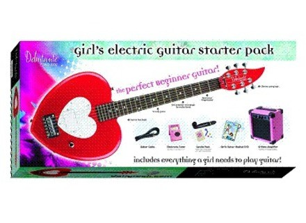 Daisy Rock Girl's Electric Guitar Starter Pack