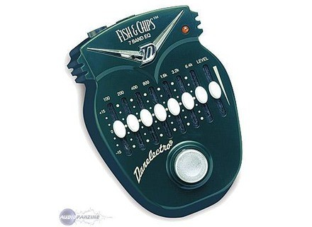 Danelectro DJ-14 Fish & Chips 7-Band EQ