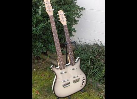 Danelectro Doubleneck Standard/Baritone Guitar