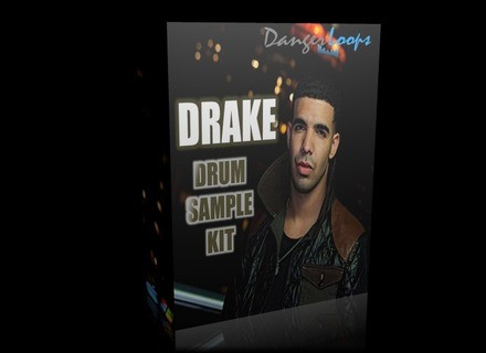 DangerLoops Drake Studio Drum Sample Kit