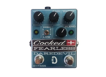 Daredevil Pedals Cocked and Fearless