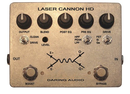 Daring Audio Laser Cannon HD - Aluminum