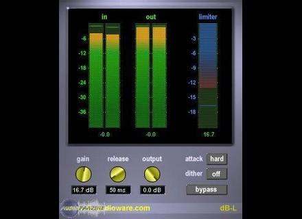 db Audioware dB-L Mastering Limiter