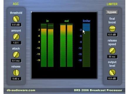 db Audioware DRS2006 Broadcast Processor STD