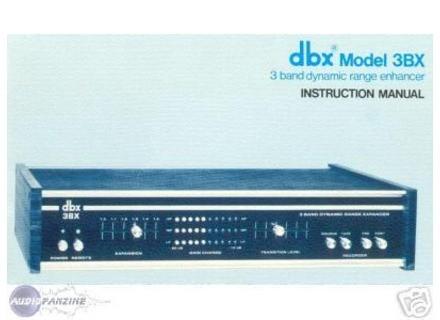 dbx 3BX model vintage