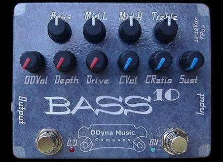 DDyna Music Company BASS10 Compressor