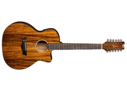 Dean Guitars AXS Exotic Cutaway A/E 12 String Koa