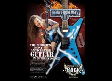 Dean Guitars Dean from hell