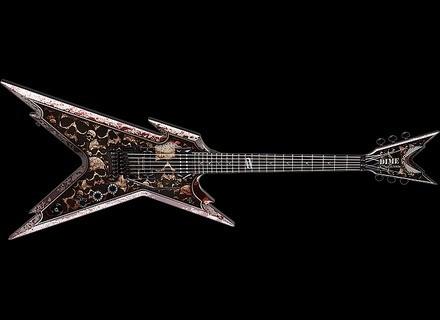 Dean Guitars Dime Razorback Skulls