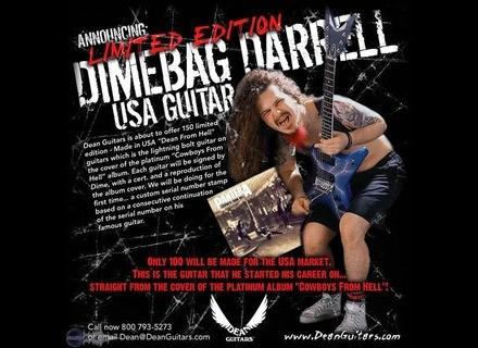 Dean Guitars Dimebag Darrel