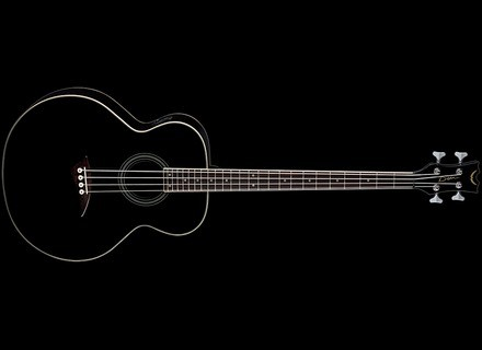 Dean Guitars EAB Bass - Classic Black