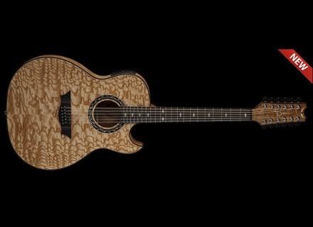 Dean Guitars Exhibition Quilt Ash 12 String