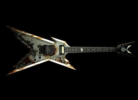 Dean Guitars USA Dime Razorback Rust