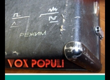 Detunized DTS004 - Vox Populi Synthesiser