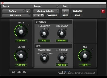 Digidesign AIR Chorus