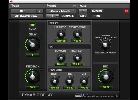 Digidesign AIR Dynamic Delay