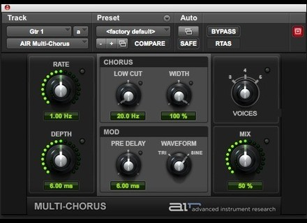 Digidesign AIR Multi-Chorus