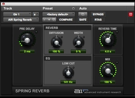 Digidesign AIR Spring Reverb