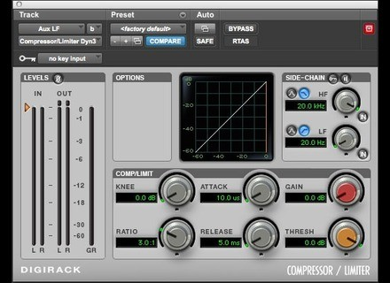 Digidesign Digirack Compressor / Limiter