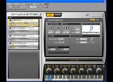 Digidesign Structure Free