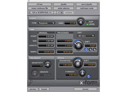 Digidesign X-Form