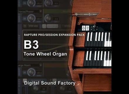 Digital Sound Factory B3 Tone Wheel Organ