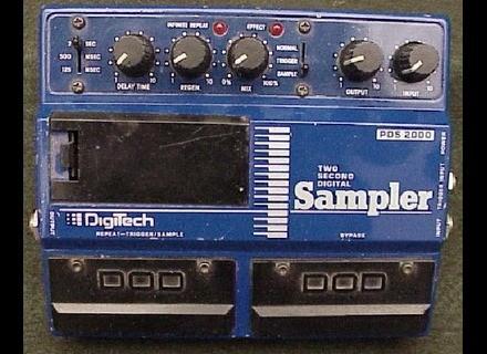 DigiTech PDS 2000 Two Second Digital Sampler