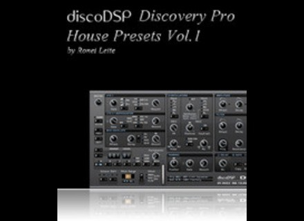 DiscoDSP House Presets Vol. 1 (Discovery Pro)