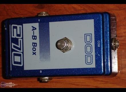 DOD 270 A-B box