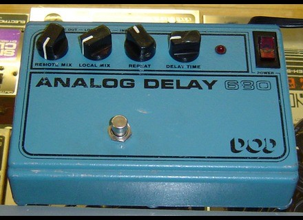 DOD 680 Analog Delay
