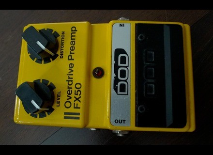 DOD FX50 Overdrive Preamp