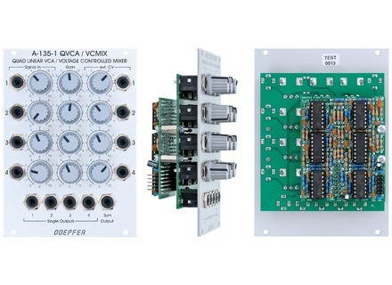 Doepfer A-135-1 Voltage Controlled Mixer / Quad VCA