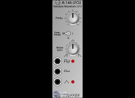 Doepfer A-146 Low Frequency Oscillator 2 / LFO 2