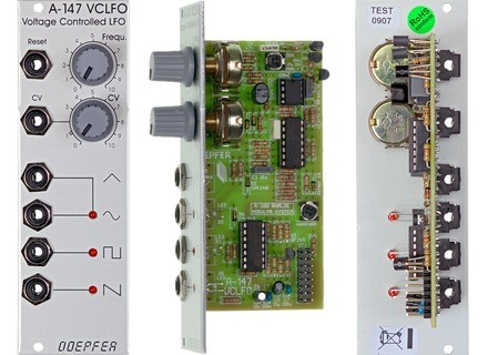 Doepfer A-147 Voltage Controlled Low Frequency Oscillator VCLFO