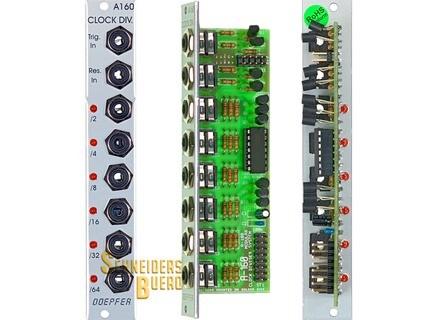 Doepfer A-160 Clock/Trigger Divider