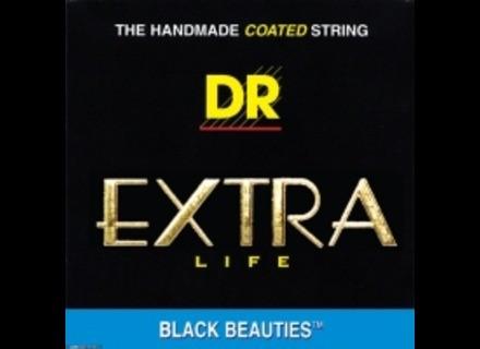 Dr Strings Black Beauties Acoustic
