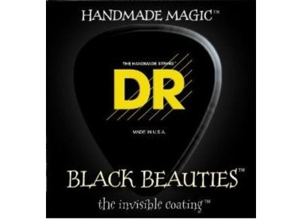 Dr Strings Black Beauties Electric