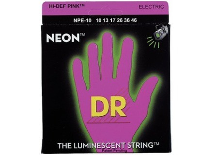 Dr Strings K3 Neon Hi-Def Pink Electric