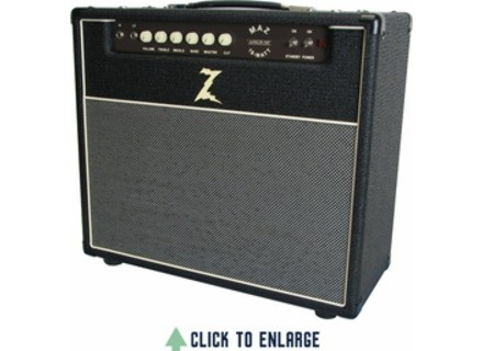 Dr. Z Amplification Maz 18 Jr NR Combo - Black w/ Salt and Pepper