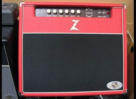 Dr. Z Amplification Maz 18 Jr NR Combo - Red
